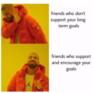sharing goals with your significant other