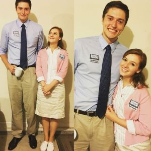 jim and pam from the office